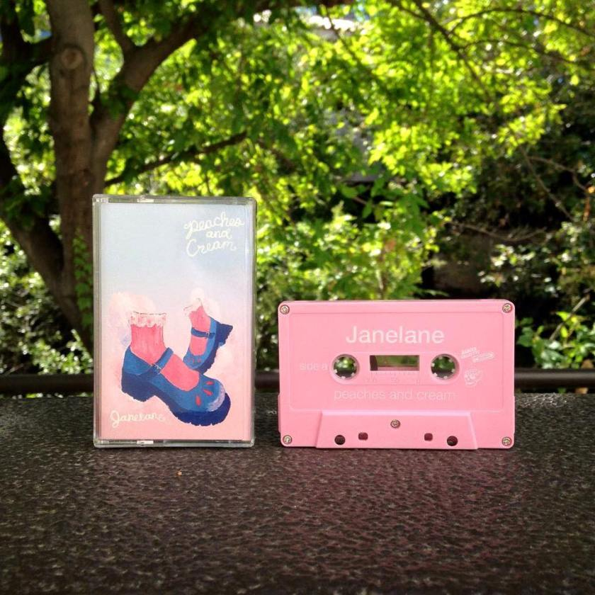 Peaches and Cream cassette, from Danger Collective Records.