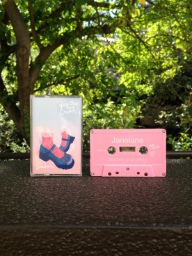 """June 2015: The """"Peaches and Cream"""" EP cassette, courtesy of Danger Collective Records."""