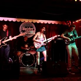 March 2015: At Spiderhouse in Austin, Texas for SXSW.