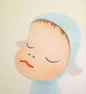 Yoshitomo Nara, Blue Sheep (1999)